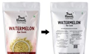 True Elements Raw Watermelon Seeds for Eating 250gm - High in Protein